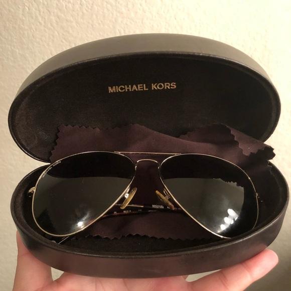 6c0f37576f92 Michael Kors Kennedy Aviator Sunglasses. M_5a5259788af1c58580011380